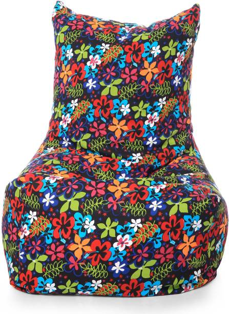 STYLE HOMEZ XXXL Chair Bean Bag Cover  (Without Beans)