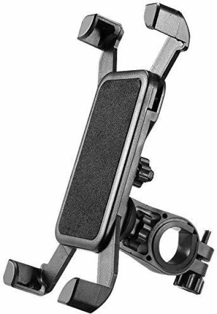 Frackson Universal Bicycle & Bike Cradle Handlebar Roll Bar 360 Rotate Mobile Holder Bicycle Phone Holder