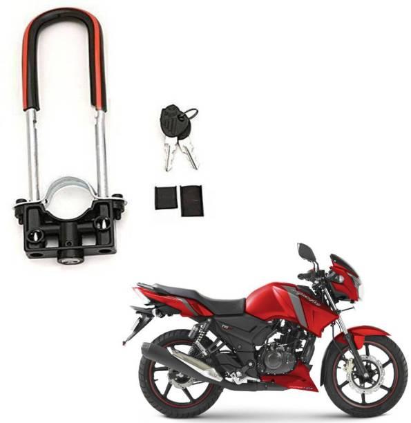 BRPEARl Bike Front Shocker Wheel Lock-154 Bike Front U-Type Anti Theft Wheel Lock For TVS Apache RTR 160 Wheel Lock