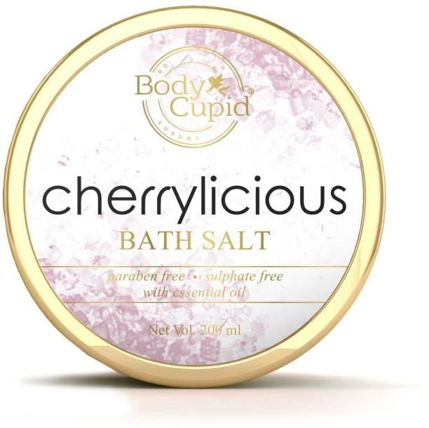 Body Cupid Cherrylicious Bath Salt - 200 ml