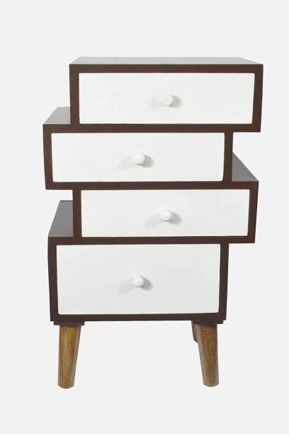 GLORIEUX ART Engineered Wood Free Standing Chest of Drawers