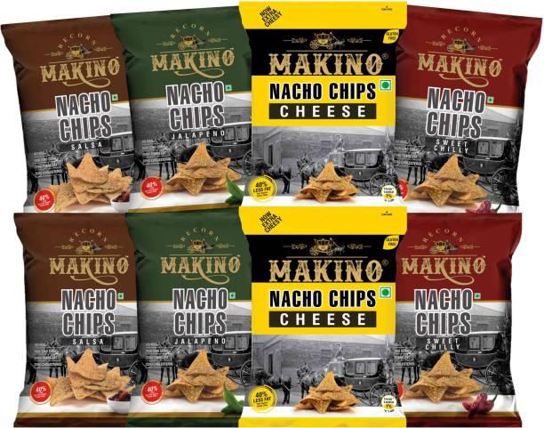 MAKINO NACHOS(Cheese, Jalapeno, Sweet Chilly) Nachos