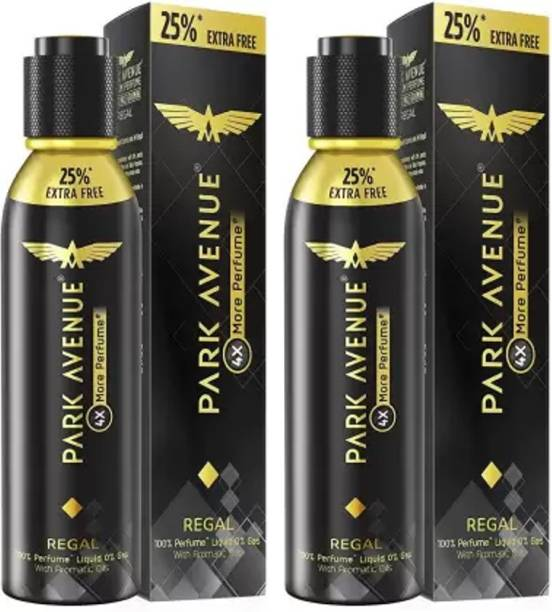 PARK AVENUE Regal Men Deodorant 150 Ml Pack Of 2w2w Body Spray  -  For Men