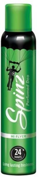 Spinz Hi Flyer Perfume Deo Deodorant Spray  -  For Women