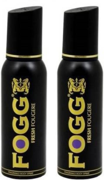 FOGG FRESH FOUGERE + FRESH FOUGERE 240ml Body Spray  -  For Men