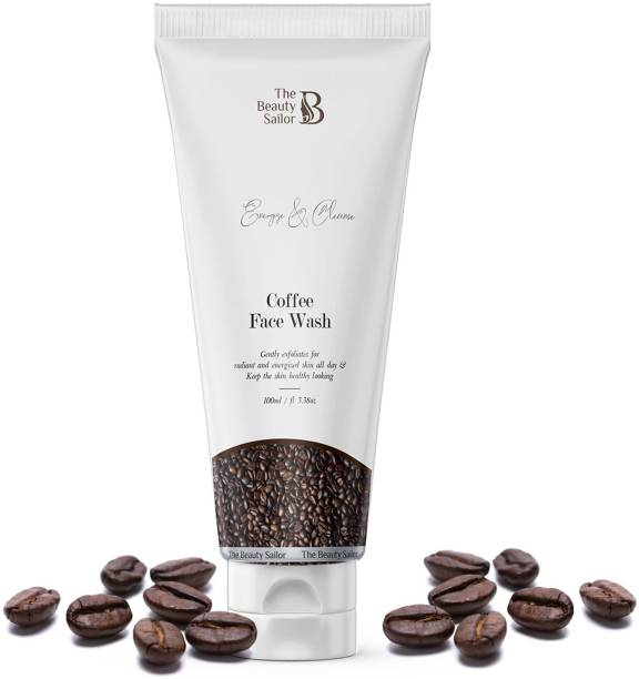 The Beauty Sailor Coffee  Gently Exfoliates For Radiant, Cleanse & Energize Skin Face Wash