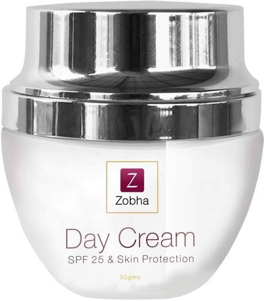 Zobha Day Cream With SPF 25 & Sun Protection For Skin Brightening and Glow