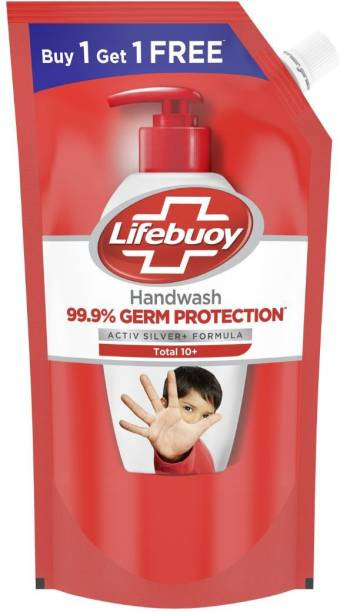 LIFEBUOY Total 10 Activ Naturol Germ Protection Handwash Refill(Buy 1 Get 1) Hand Wash Refill Pouch Hand Wash Refill Pouch