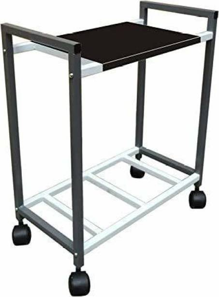 Lepose Metal Inverter trolley With Black Powder Coating Trolley for Inverter and Battery