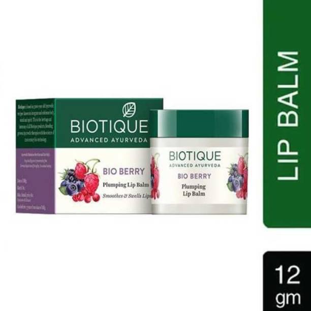 BIOTIQUE bio berry lip balm berry, plump