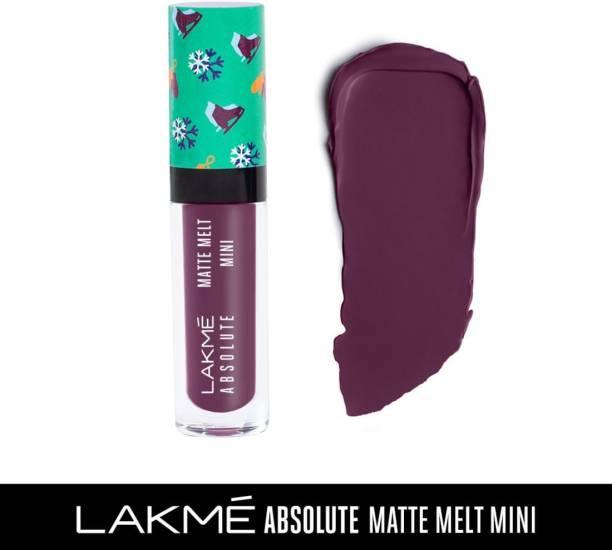 Lakmé Absolute Matte Melt Mini Liquid Lip Colour
