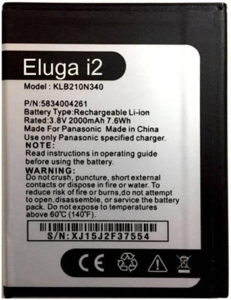 A Mobile Battery For  Panasonic ELUGA i2 KLB210N340
