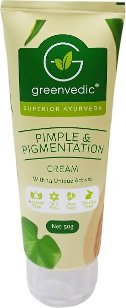 GreenVedic Pimple And Pigmentation Cream ( Paraben And SLS Free )