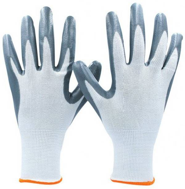 SS & WW ETS_CUT_WHITE. Synthetic  Safety Gloves