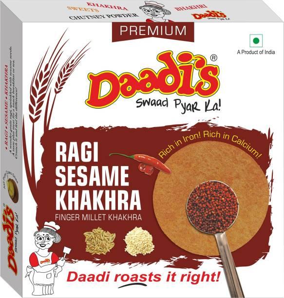 Daadi's Ragi Sesame Khakhra