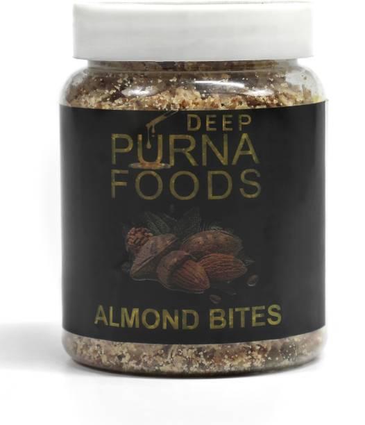 Deep Purna ALMOND BITES pack of 10 x 100 gm
