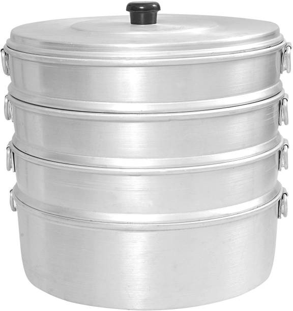 VPSK ALUMINIUM MOMOS STEAMER NO 7 CAPACITY 2 LITER ( 40 to 50 pcs are baked at one time ) small ideal for home Aluminium Steamer