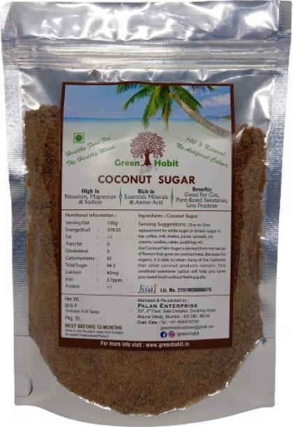 greenhabit Coconut Sugar Natural Sweetener, Sugar Alternative | Vegan |Unrefined | Sugar for Coffee, Tea & Recipes | Non GMO Sugar