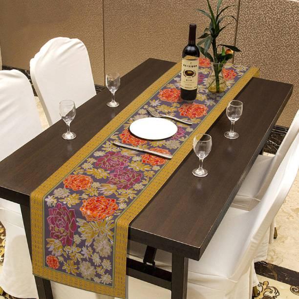 RATAN CART Multicolor 225 cm Table Runner