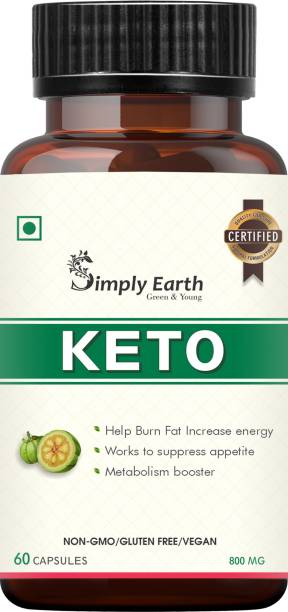 Simply earth Keto Natural Weight Loss Supplement, Belly Fat Burner for Men and Women