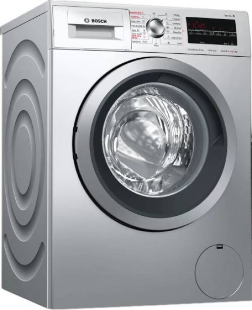 BOSCH 8/5 kg Washer with Dryer with In-built Heater Silver