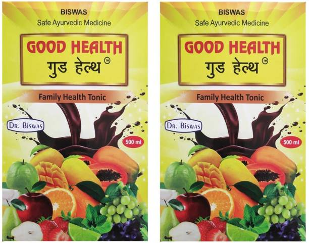 Dr. Biswas Good Health Family Health Tonic for Improving Stamina and Immunity (Pack of 2)
