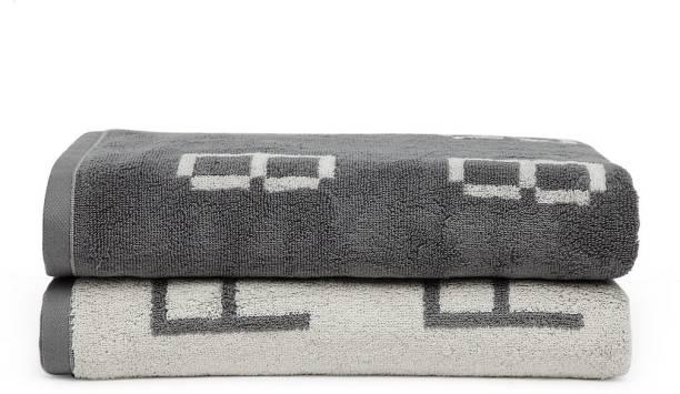 TRIDENT Cotton 650 GSM Bath Towel Set
