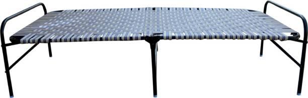 sharvan steel sharvan steel folding bed Metal Single Bed