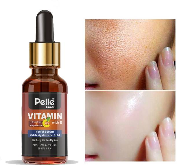 Pelle Beauty vitamin c with e face serum _Face Treatment _ For Men & women _30ml