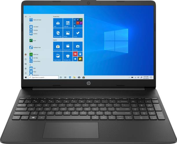 HP Core i3 11th Gen - (8 GB/256 GB SSD/Windows 10 Home) 15s-FQ2075TU Thin and Light Laptop
