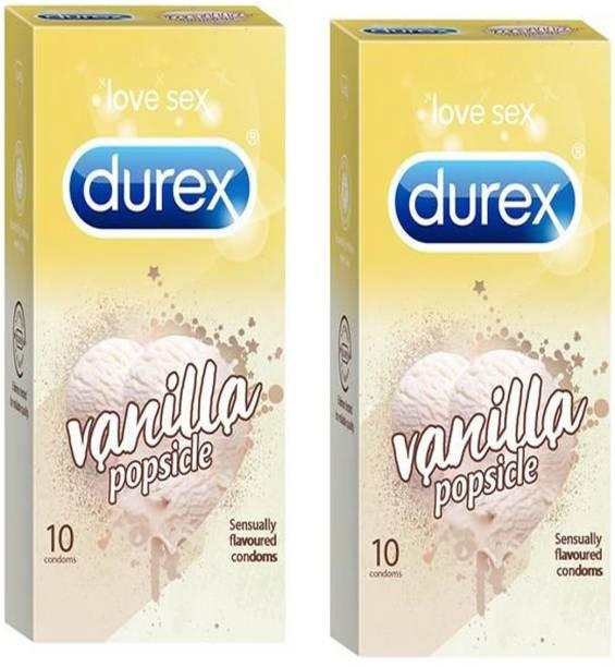 DUREX Vanilla popside 2 Condom