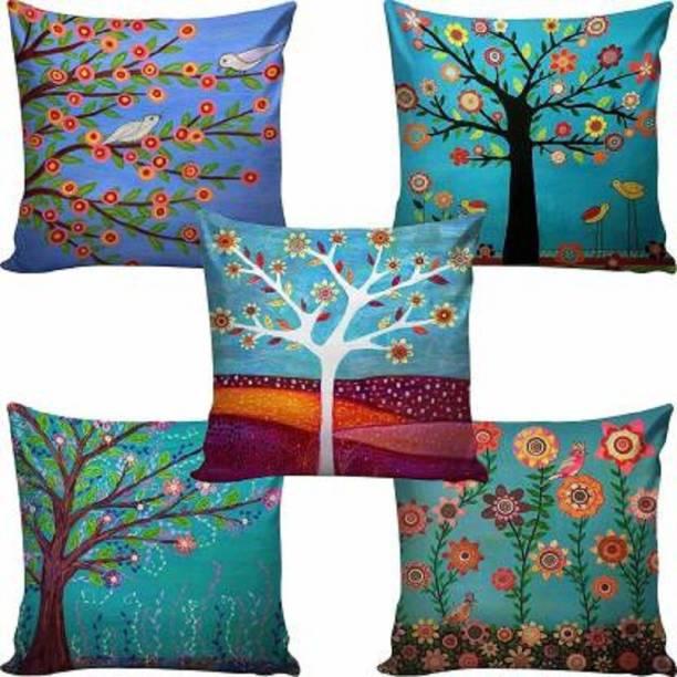CHHAVI INDIA Printed Cushions & Pillows Cover