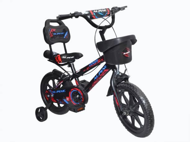 Alpine Bmx Red black zoom bmx unisex bicycle/cycle for kids 2-5 years 14T BMX Cycle 14 T BMX Cycle