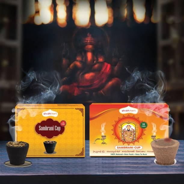Shubhkart Sambrani Cup Sandal Dhoop