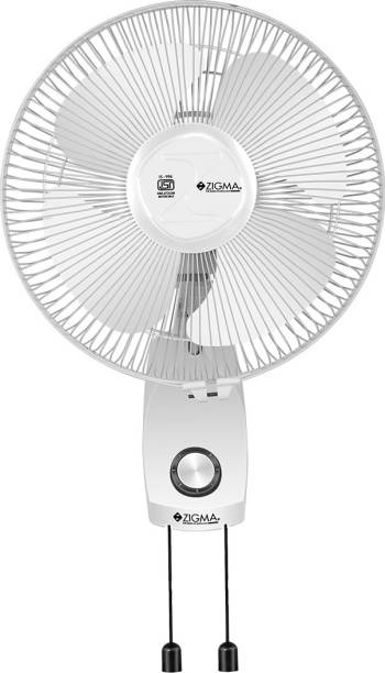 zigma Charm Anti Dust 12`` 300 mm Ultra High Speed 4 Blade Wall Fan