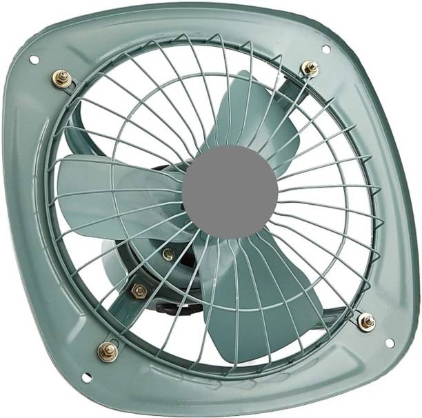 Viyasha 12 INCH alastar High speed Heavy Duty Metal Fresh Air Exaust Fan for Kitchen/Bathroom (Copper Winding) 400 mm Ultra High Speed 3 Blade Exhaust Fan
