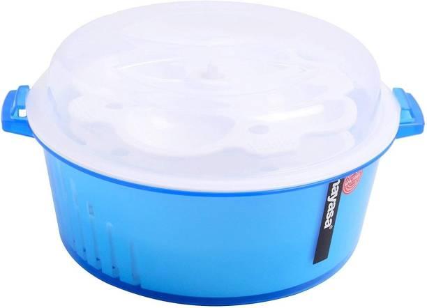 NAYASA 4 in 1 Microwave Idli Maker, Strainer, Cooker, Steamer Microwave Idli Maker Microwave Idli Maker