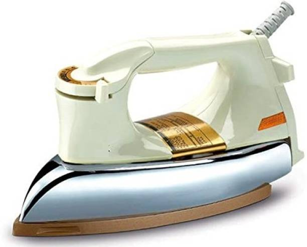 Gi-Shop    Heavy Weight Electric Iron    1000 W    Heritage Design    Powerful Element    1 Year Warranty    ISI Approved    Model – R Plancha 1000 W Dry Iron