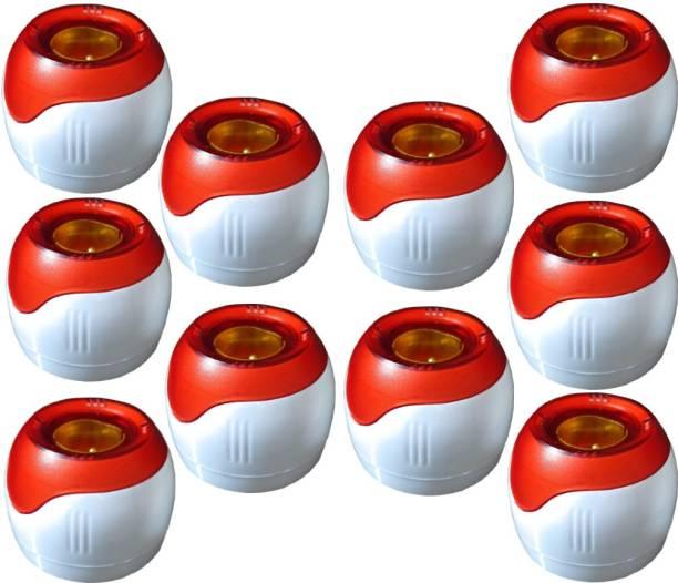 Hiru Fancy Batten Bulb Holder Light Socket Socket(Red, Pack of 10) Plastic Light Socket
