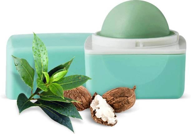 Organic Harvest Green Tea Flavour Lip Balm With Benefits of Jojoba Oil, Vitamin E, Green Tea Oil, For Women Dark Lips to Lighten | Kids/ Girls Lip Care for Dry & Chapped Lips | 100% Organic, Paraben & Sulphate Free Lip Gloss Green Tea
