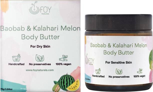 foynaturals Baobab & Kalahari Melon Body Butter