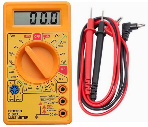 DT830D LCD Disply Digital Multi-meter Digital Multimeter (Yellow 2000 Counts) Digital Multimeter Digital Multimeter