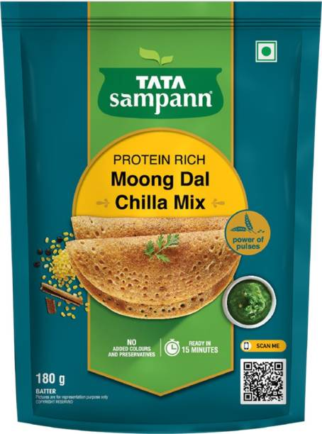 Tata Sampann Moong Dal Chilla Mix 180 g