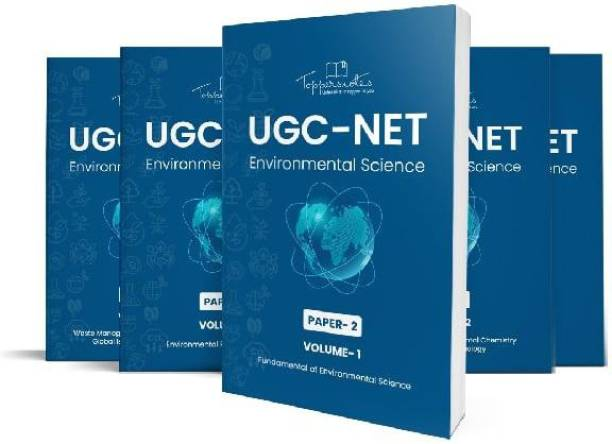 UGC-NET Environmental Science Toppers Notes Paper 2 – 5 Books- Latest Edition