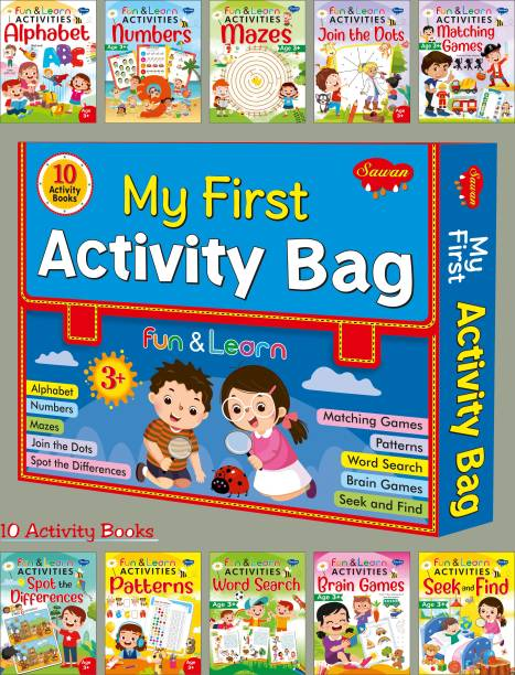 My First Activity Bag | Set Of 10 Fun And Learn Activity Books