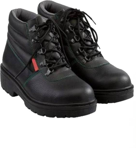 Para Commando SAFETY SHOES FOR MEN INDUSTRIAL / SAFETY SHOES Steel Toe Leather Safety Shoe