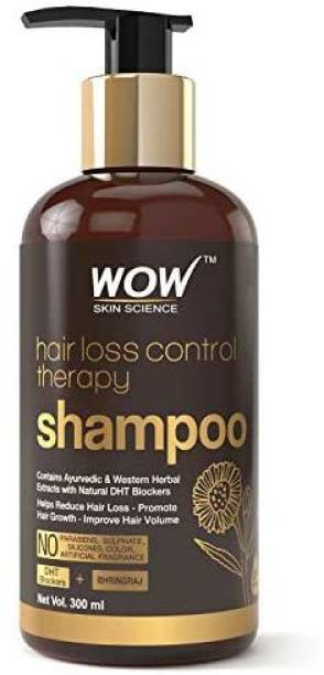 WOW! WOW Skin Science Hair Loss Control Therapy Shampoo Increase Thick & Healthy Hair Growth Contains Ayuvedic & Western Herb