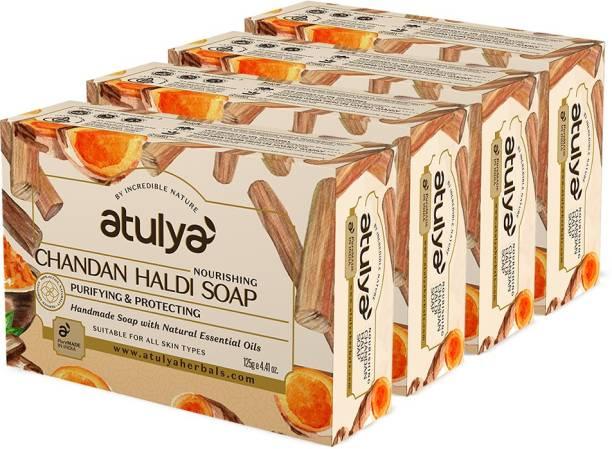 Atulya Chandan Haldi - Handmade Soap