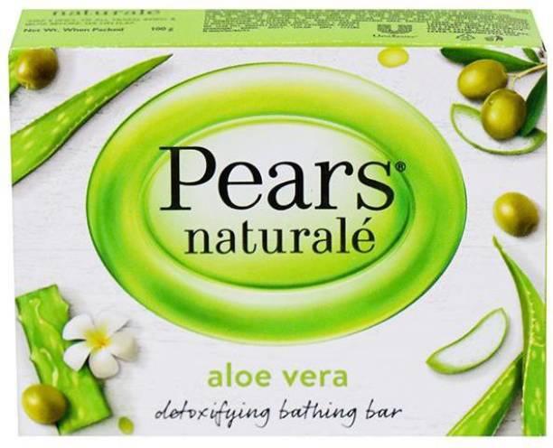 Pears Naturale Aloe Vera Bathing Bar 100g Pack of 6