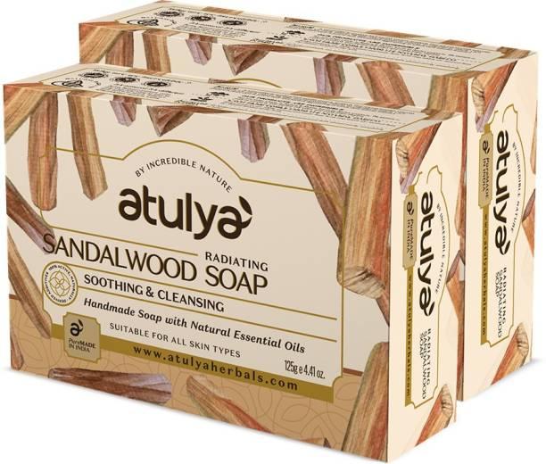 Atulya Sandal Wood - Handmade Soap